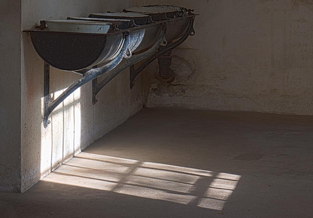 Waschbecken im Sensenhammer LWL-FMH