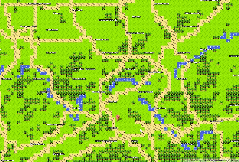 Hagen - 8bit Google Maps