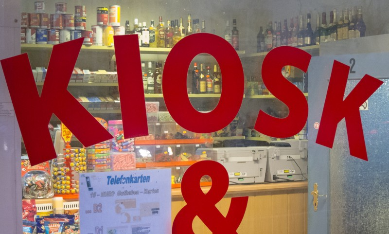 Kiosk, Mallinckrodtstraße, Dortmund