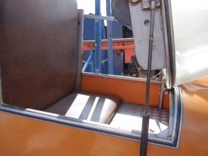 Sitz - aufgeklapptes Fahrzeug